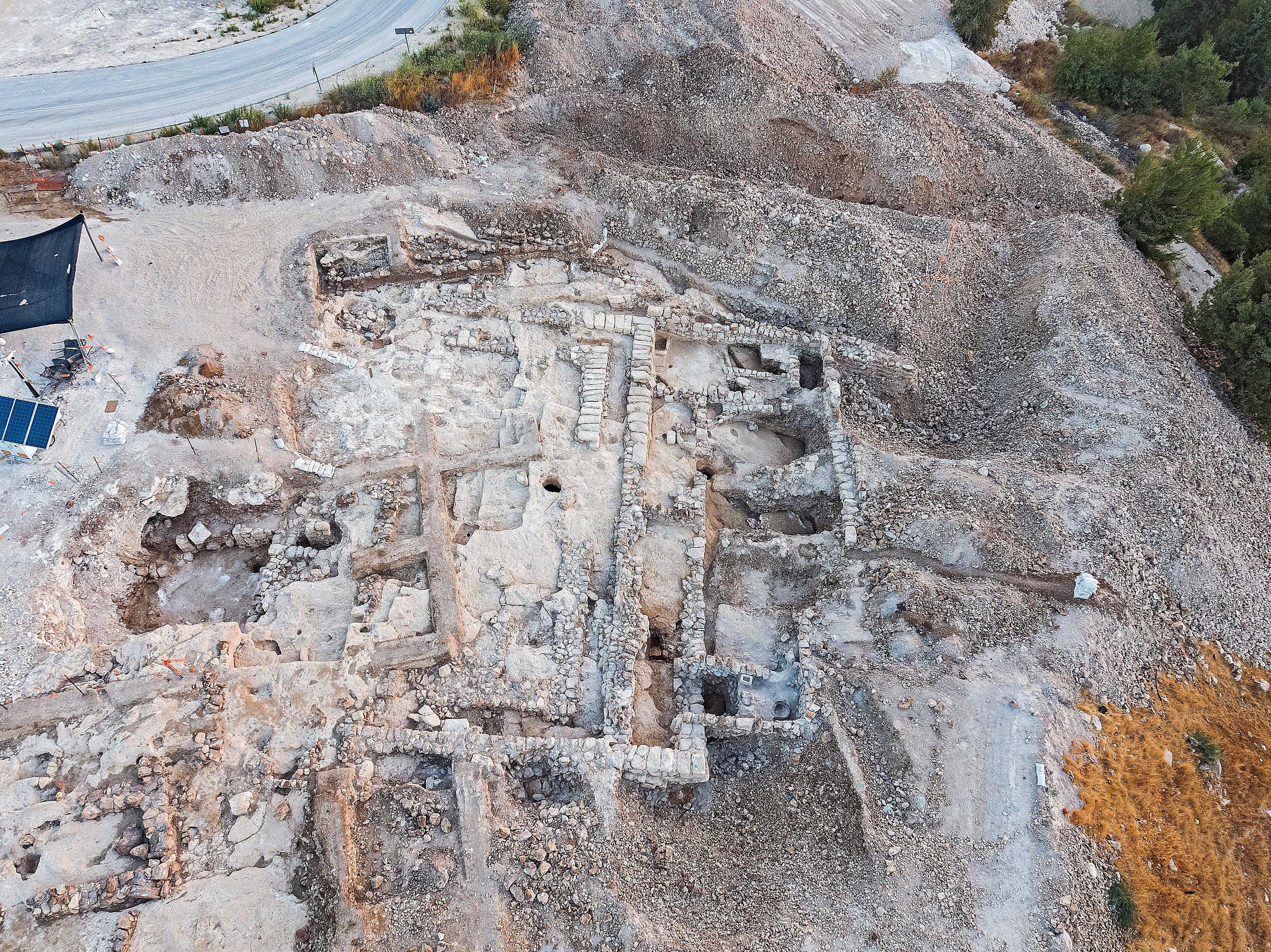 Aerial Photo – Assaf Peretz, Israel Antiquities Authority