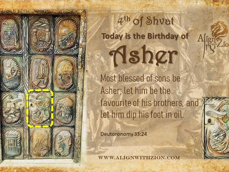 Birthday of Asher Ben Yaakov