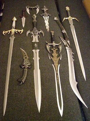 kit rae fantasy swords from Ravenusdeath