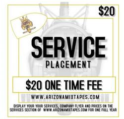 SERVICE PLACEMENT