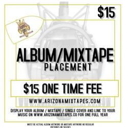 ALBUM/MIXTAPE PLACEMENT