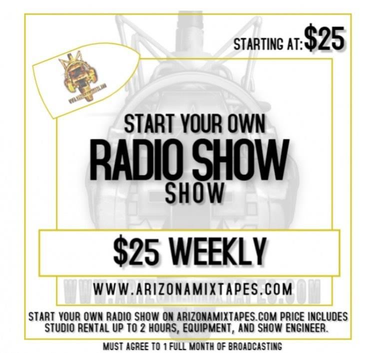 START A RADIO SHOW