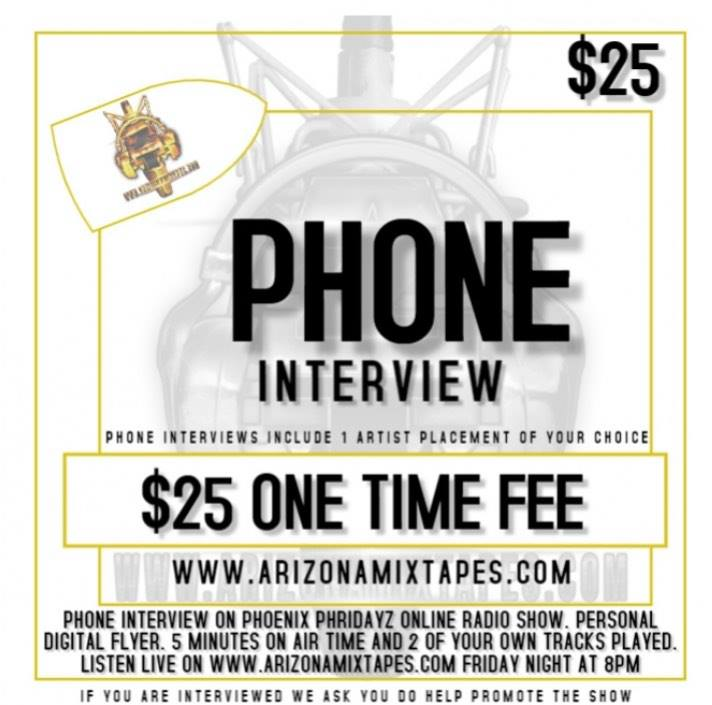 PHONE INTERVIEW