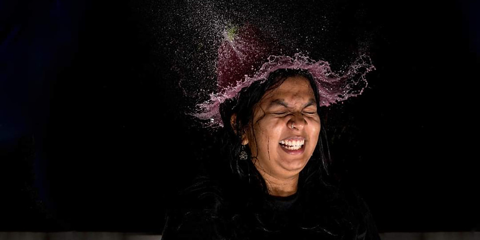 Waterwig Portraits with Smoke and Light Painting