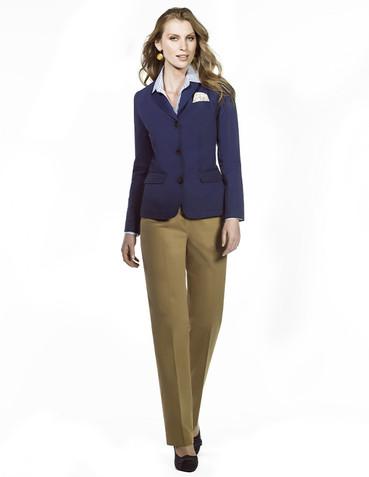 Saco azul y pantalón