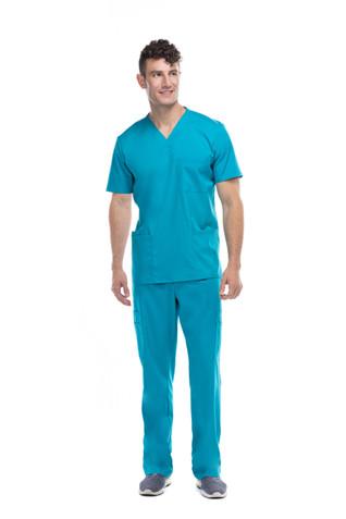 Pijama quirúrgica caballero aqua