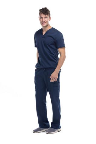 Pijama quirúrgica caballero azul