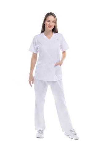 Conjunto enfermería blanco
