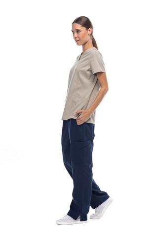Pijama quirúrgica coordinado beige
