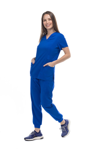 Pijama pantalón elástico en tobillo