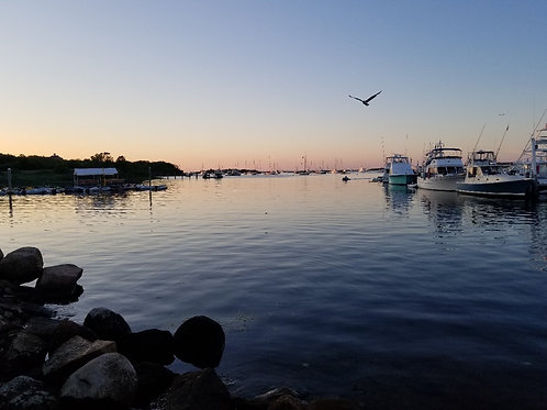 Evening On Block Island