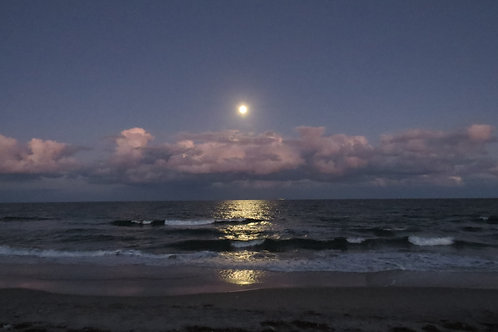 Moonrise Over Delray Beach