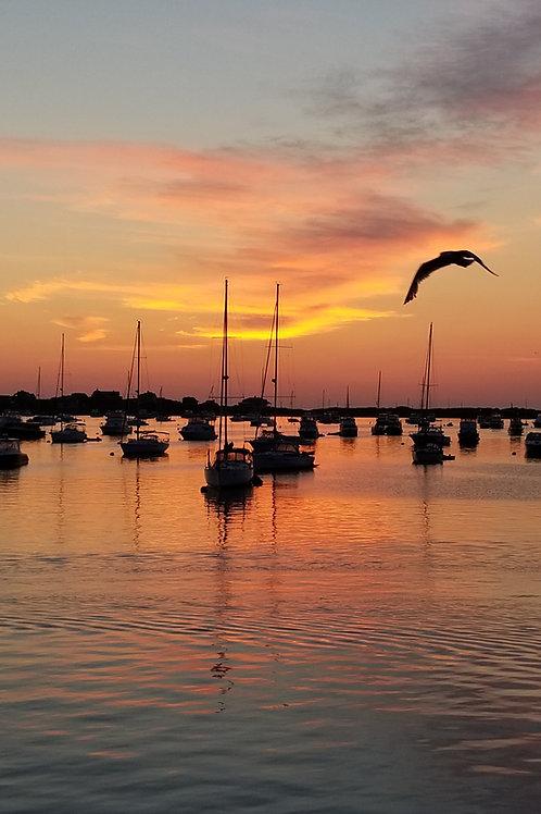Sunrise Over New Harbor