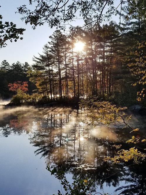 New England Fall Morning
