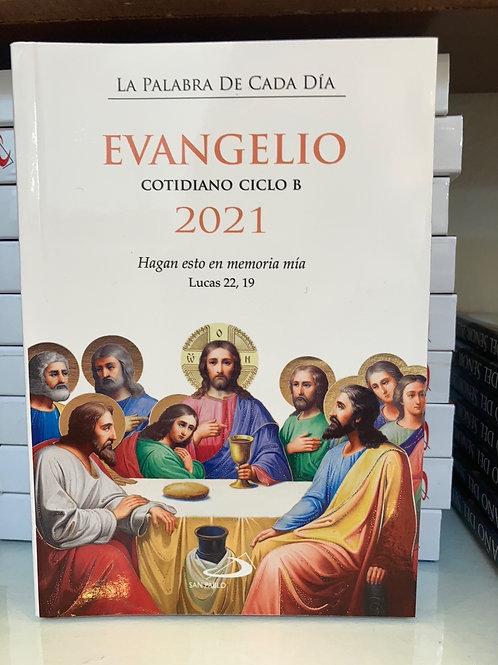 EVANGELIO COTIDIANO AÑO 2021