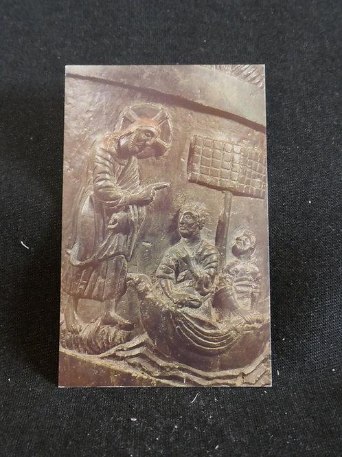 SANTITO DISCIPULOS EN LA BARCA 1694