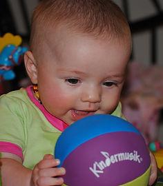 Kindermusik Baby with Ball