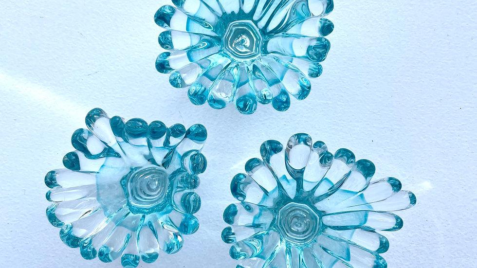 Anemone Splashes - Copper Blue