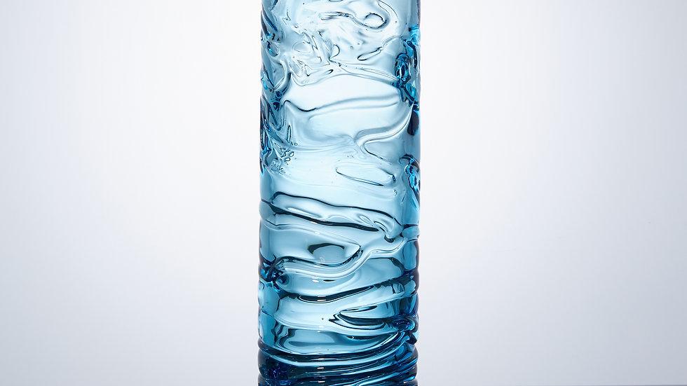 Aqua Blue Water Vases
