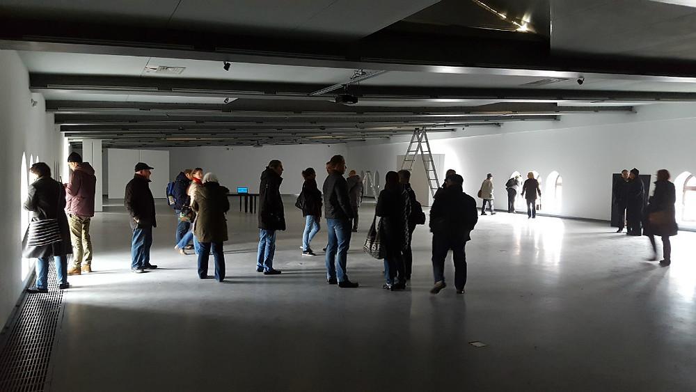 Ausstellungsraum im staatl Museum für Gegenwartskunst, ehem. Kaserne