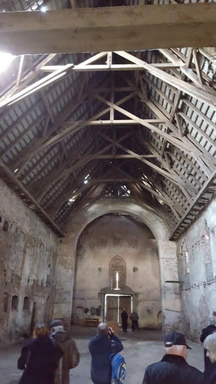 Innenansicht, Kirche in Allenburg