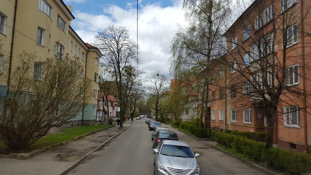 Ehemalige Schrötterstraße