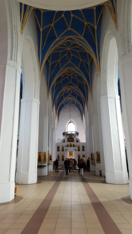 Kirchenschiff der Kirche St. Georg, Friedland