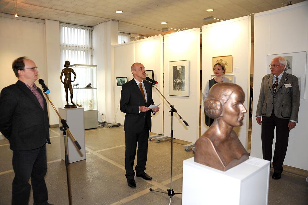 Eröffnung mit Generalkonsul Dr. Michael Banzhaf
