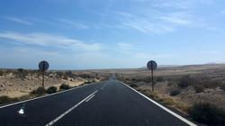 road towards Costa Calma