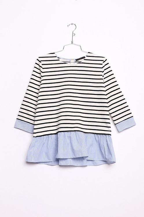 Stripes on Stripes Top