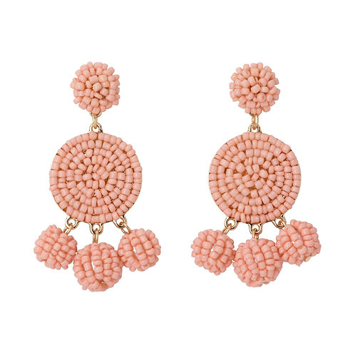 Blush Bauble Earrings
