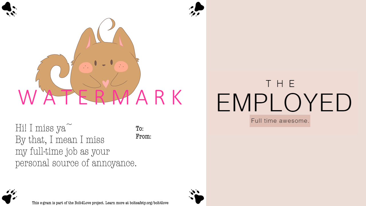 E-gram design: The Employed