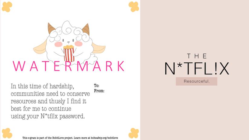 E-gram design: The N*tfl!x