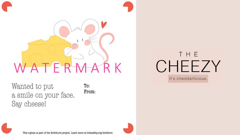 E-gram design: The Cheezy