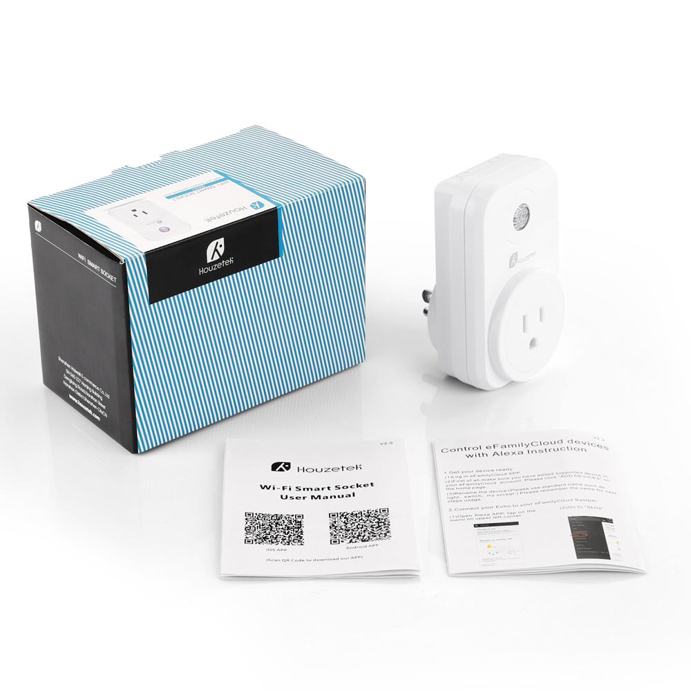 SWA1 Wifi Smart Plug - EU   Houzetek