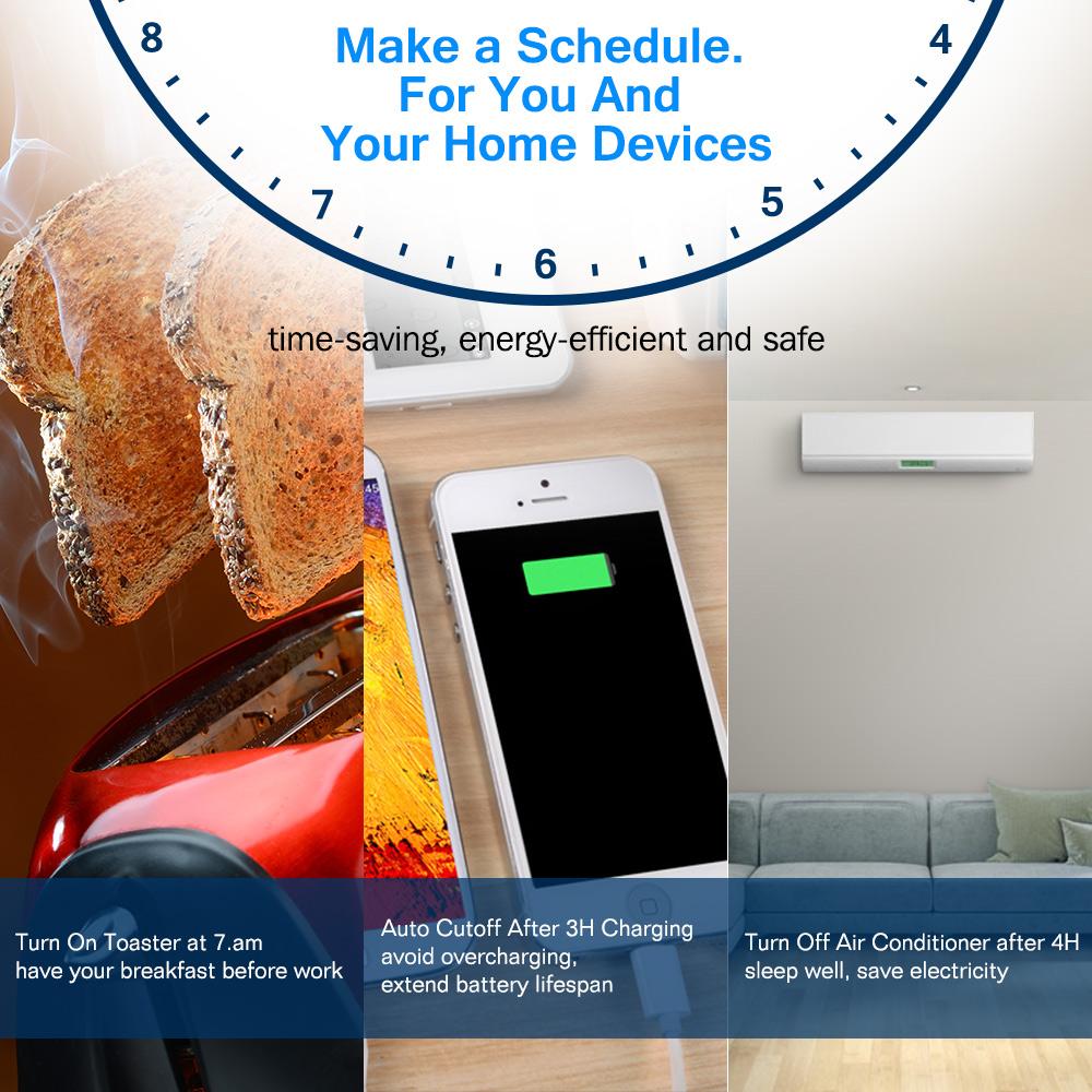 SWA1 Wifi Smart Plug - EU | Houzetek