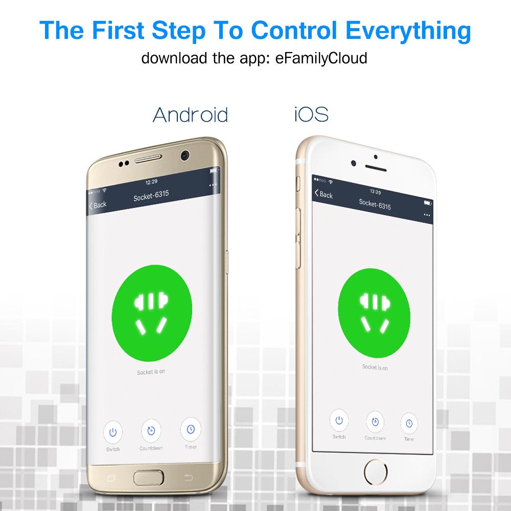 SWA1 Wifi Smart Plug - US | Houzetek