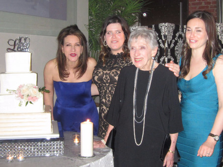 Frieda Lefeber Celebrates her 100th Birthday!