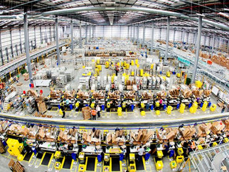 Amazon took 17% of 2017 warehousing
