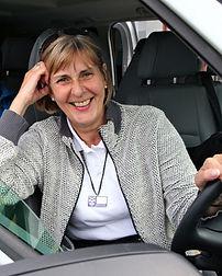 Jean Blair Blude Badge Scottish Tour Guide