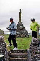 Cycling at Maggie Wall Momument Dunning