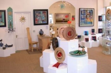 The Strathearn Gallery in Crieff showing Scotland's top contemporary artists