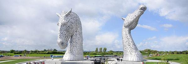 The Kelpies at Falkirk