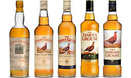 The Famouse Grouse range