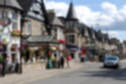High Street in Pitlochry