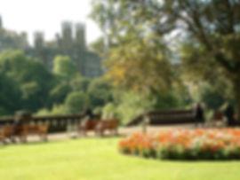 Edinburgh Princes Street Gardens on a sunny day