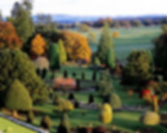 Alice in Wonderland Garden at Drummond Castle Perthshire