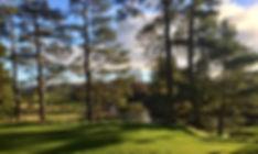 Sunshine on Gleneagles Kings Golf Course