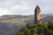 The Wallace Monument tourist attraction and historial site in Stirling