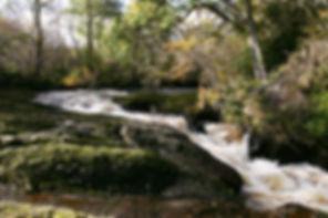 River Almond Waterfall Buchanty Spout